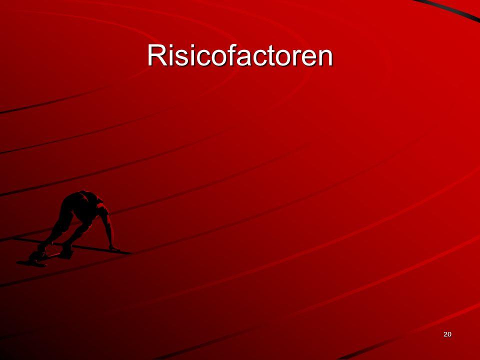 20 Risicofactoren
