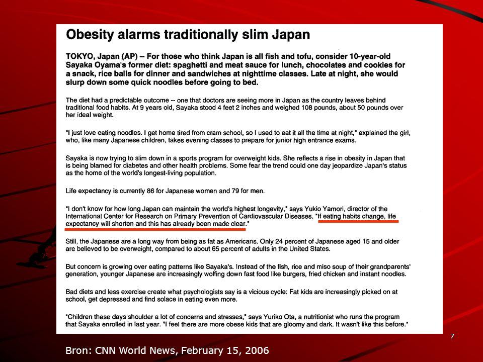 18 Prevalentie ernstige hartaandoening/hartaanval Bron: GOA 2001