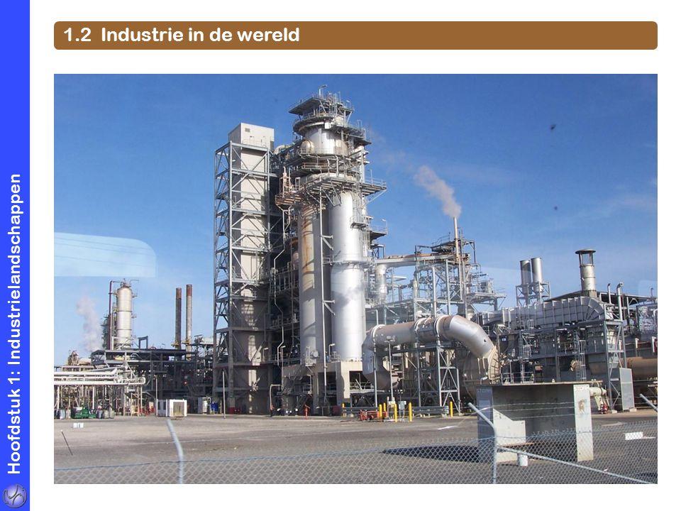 Hoofdstuk 1: Industrielandschappen 1.2 Industrie in de wereld