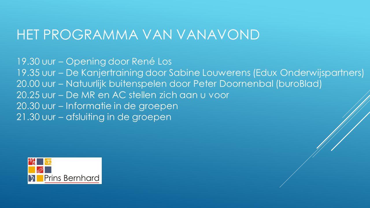 De Kanjertraining Presentatie door Sabine Louwerens Het bevorderen van vertrouwen en veiligheid in de klas.
