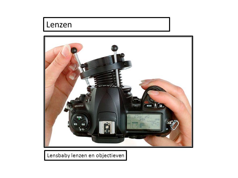 Lensbaby lenzen en objectieven Lenzen