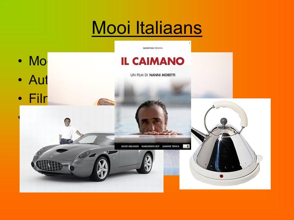 Mooi Italiaans Mode Auto's Films Design