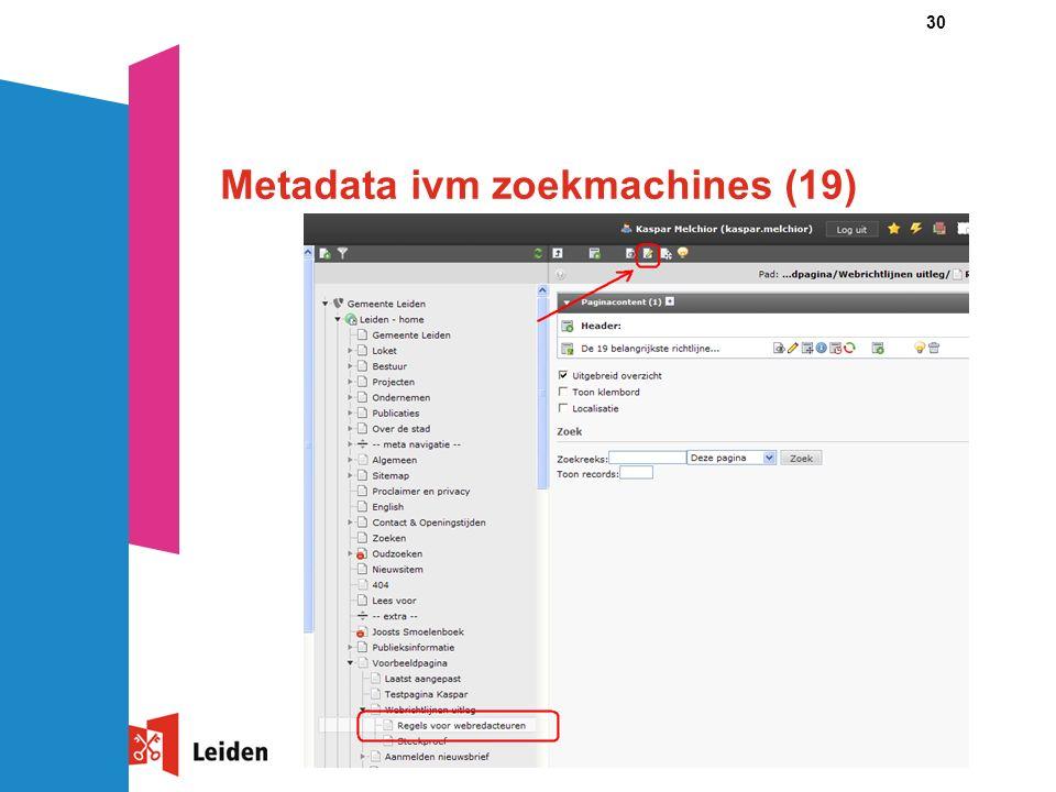 30 Metadata ivm zoekmachines (19)