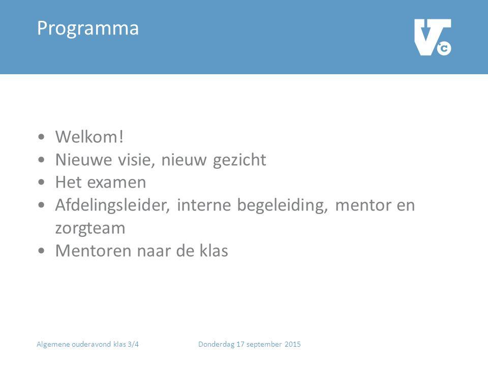 Programma Welkom.