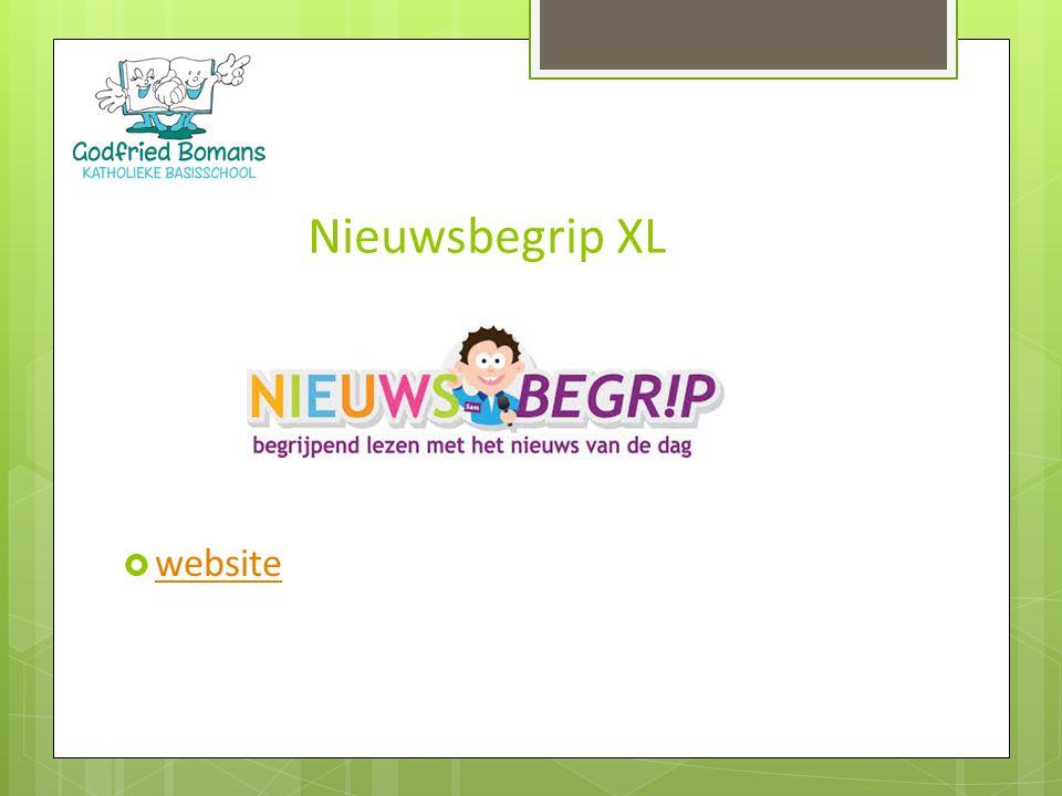  website website Nieuwsbegrip XL