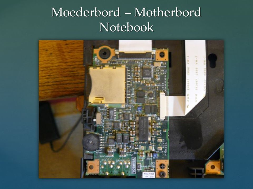Moederbord – Motherbord Notebook