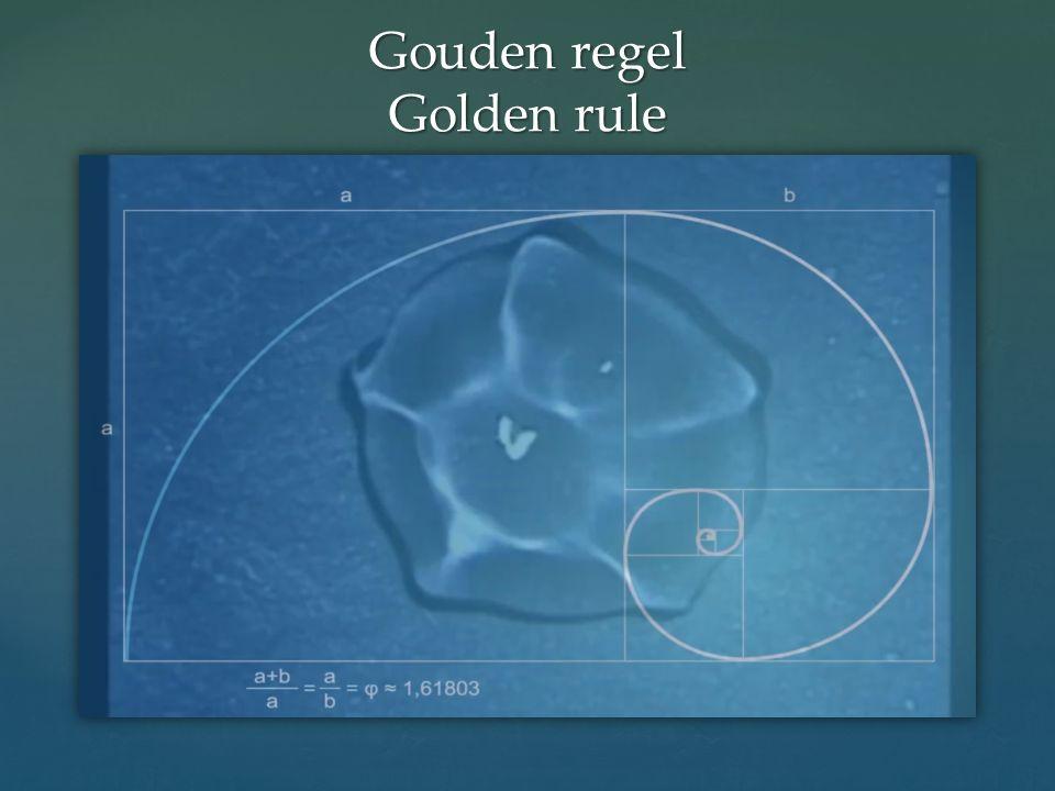 Gouden regel Golden rule