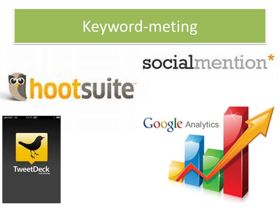 Keyword-meting
