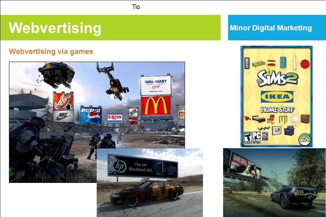 Webvertising Tio Minor Digital Marketing Webvertising via games