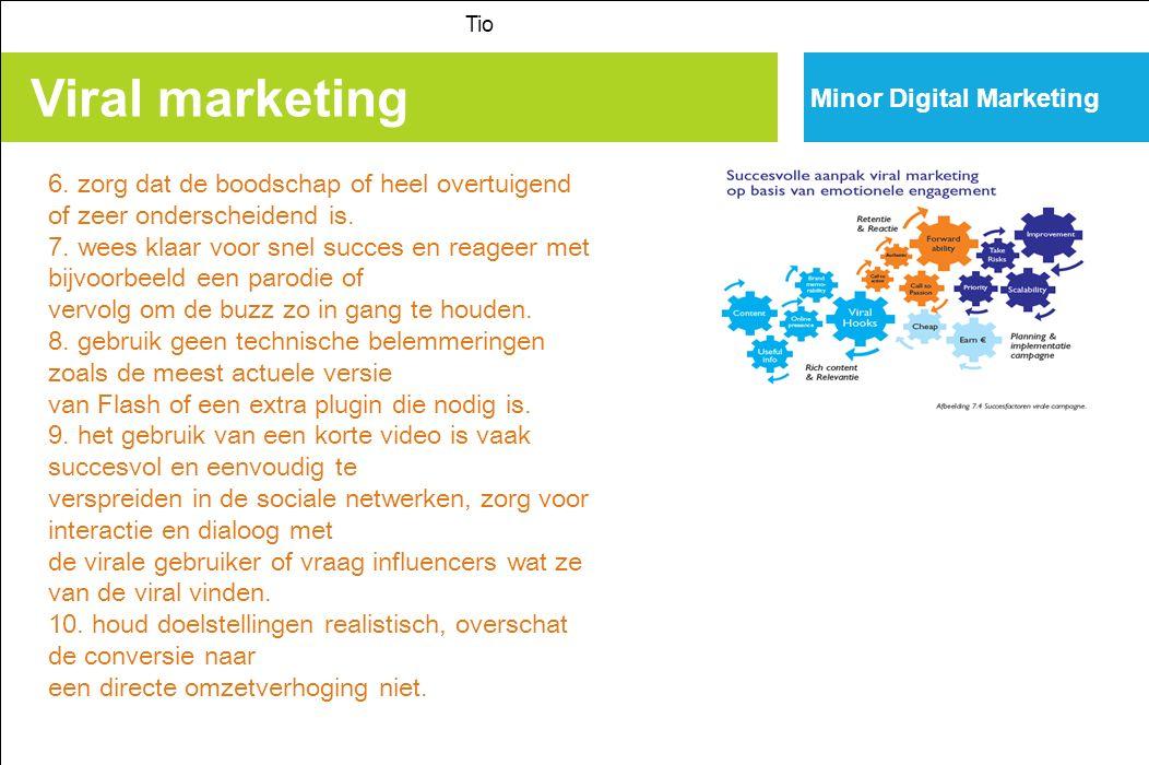 Viral marketing Tio Minor Digital Marketing 6.