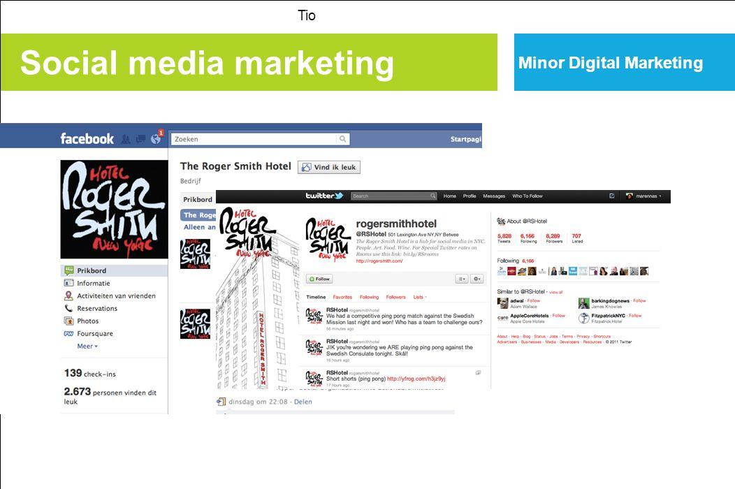 Social media marketing Tio Minor Digital Marketing