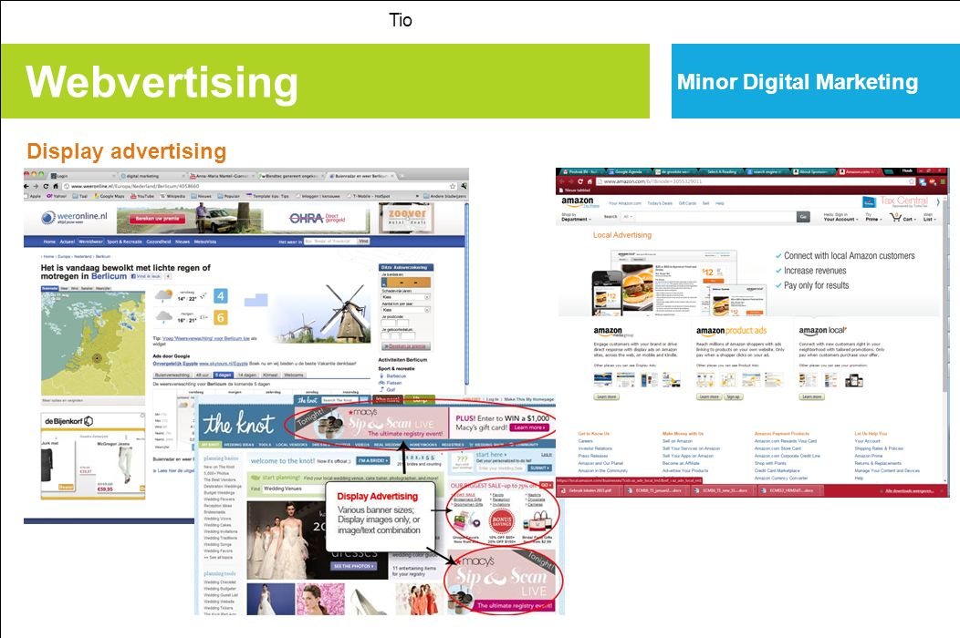 Webvertising Tio Minor Digital Marketing Display advertising
