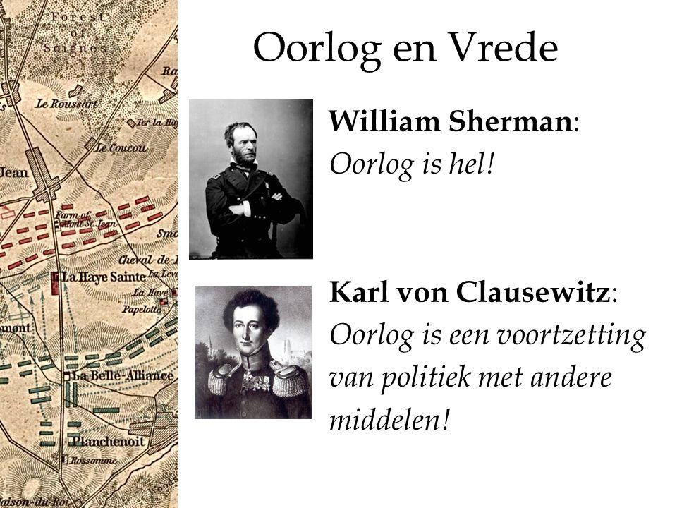 Oorlog en Vrede William Sherman : Oorlog is hel.