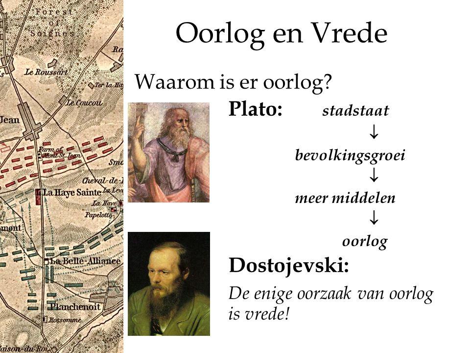 Oorlog en Vrede De demografisch-ecologische school o.a.