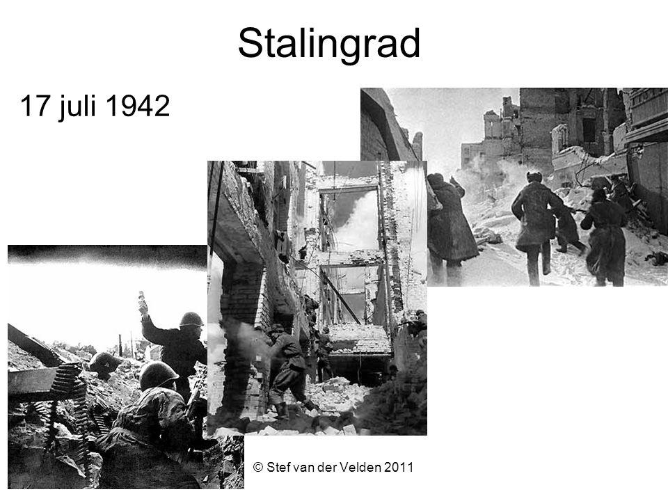 © Stef van der Velden 2011 Stalingrad 17 juli 1942