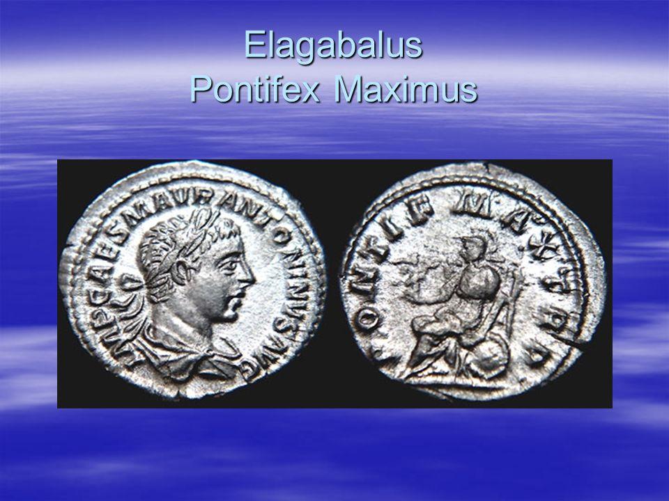 Elagabalus Pontifex Maximus