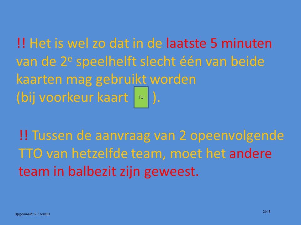 2015 Opgemaakt: R.Cornelis !.