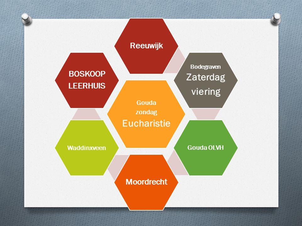 Gouda zondag Eucharistie Reeuwijk Bodegraven Zaterdag viering Gouda OLVH Moordrecht Waddinxveen BOSKOOP LEERHUIS
