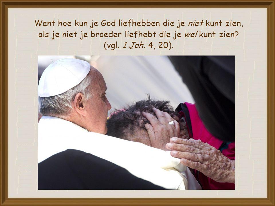 Al eeuwenlang hadden de profeten aan het volk van Israël uitgelegd dat God liefde wil en geen slacht- en brandoffers (vgl.
