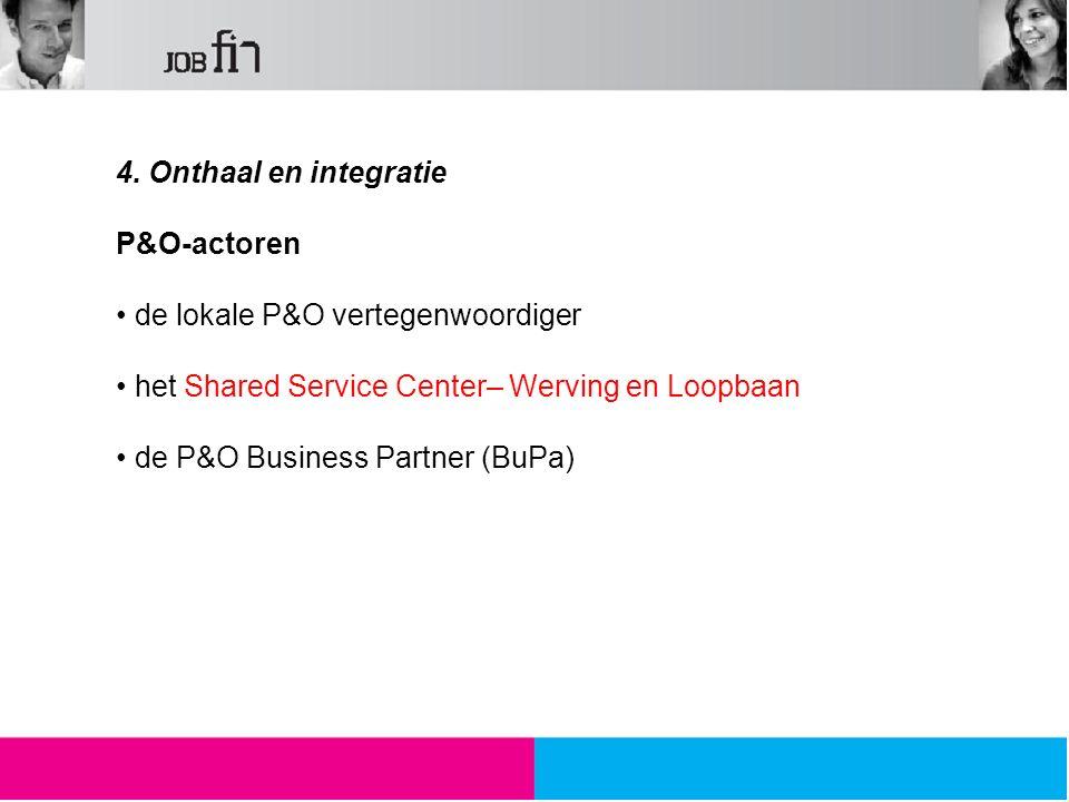 De rol van de P&O vertegenwoordiger zijn engagement m.b.t.