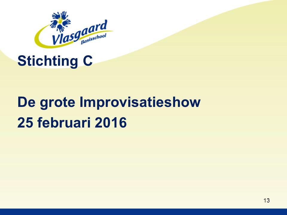 Stichting C De grote Improvisatieshow 25 februari 2016 13
