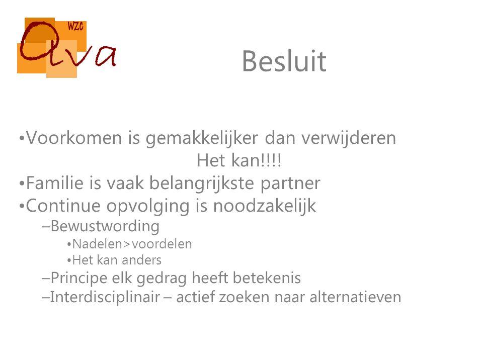 Besluit Voorkomen is gemakkelijker dan verwijderen Het kan!!!.