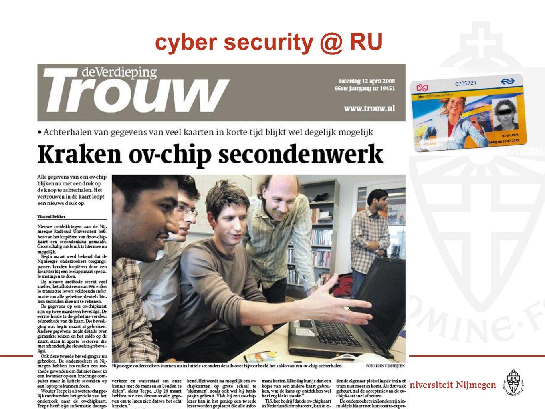 cyber security @ RU