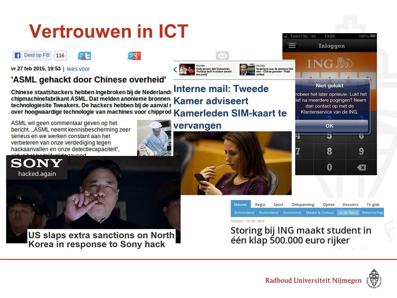 Vertrouwen in ICT