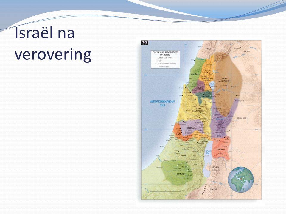 Israël na verovering
