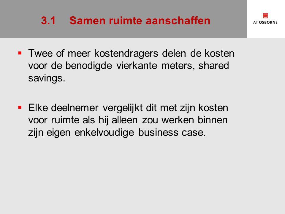 4.4Stelling 3: De paradox van meervoudige financiering  Een meervoudige business case heeft twee of meer investeerders, maar die moeten hun geld vaak halen bij een financier.