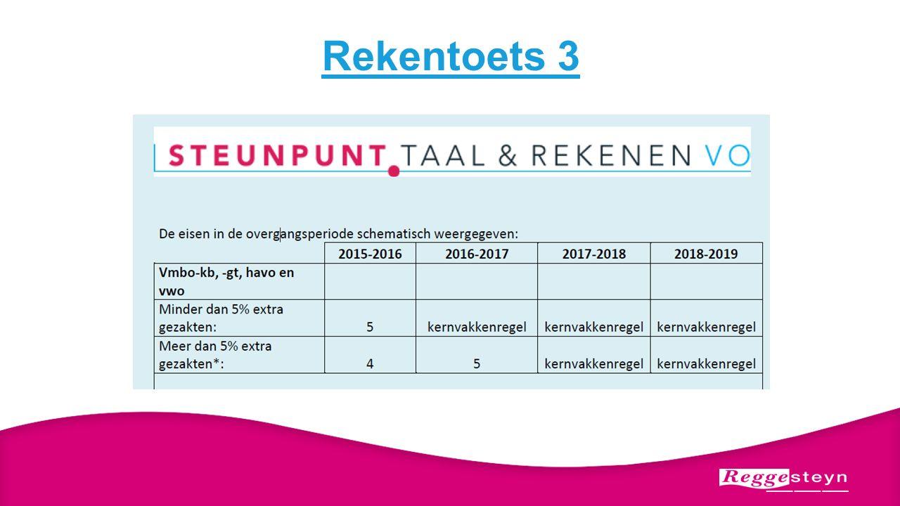 Rekentoets 3