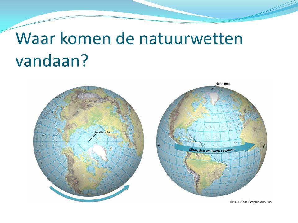 Waar komen de natuurwetten vandaan?