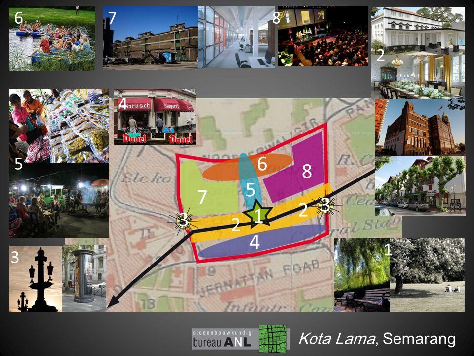 2 2 2 1 Kota Lama, Semarang 1 3 3 3 5 6 5 6 7 8 4 4 78