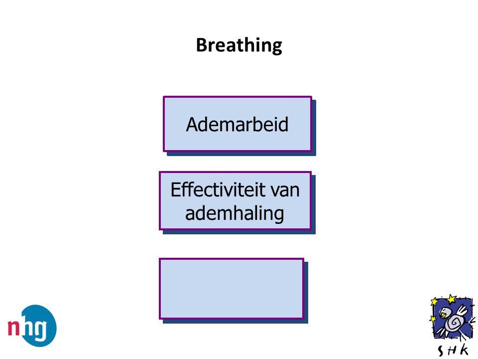 Breathing Ademarbeid Effectiviteit van ademhaling