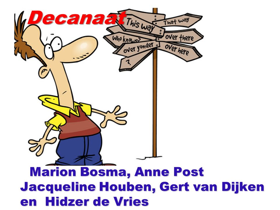Marion Bosma, Anne Post Jacqueline Houben, Gert van Dijken en Hidzer de Vries Marion Bosma, Anne Post Jacqueline Houben, Gert van Dijken en Hidzer de VriesDecanaat