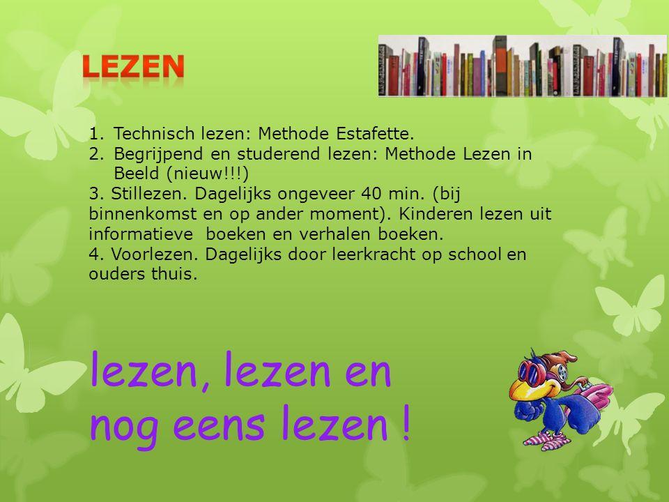 1.Technisch lezen: Methode Estafette.
