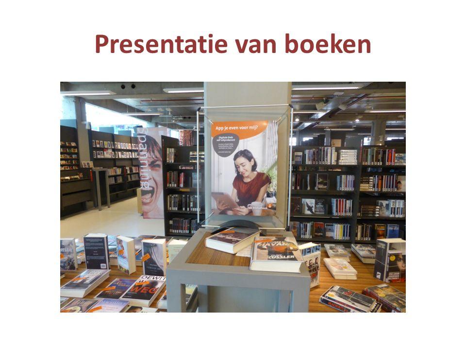 Presentatie van boeken