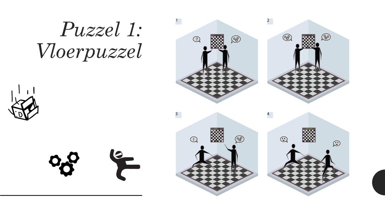 Puzzel 1: Vloerpuzzel