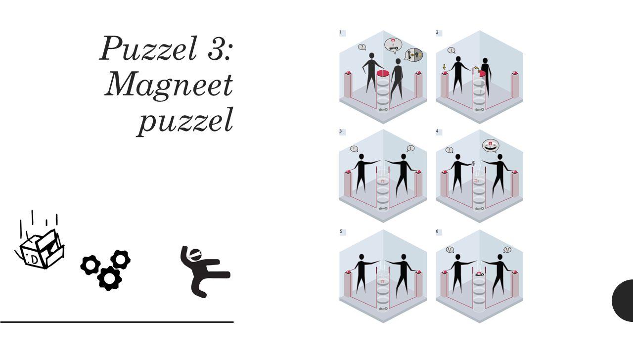 Puzzel 3: Magneet puzzel