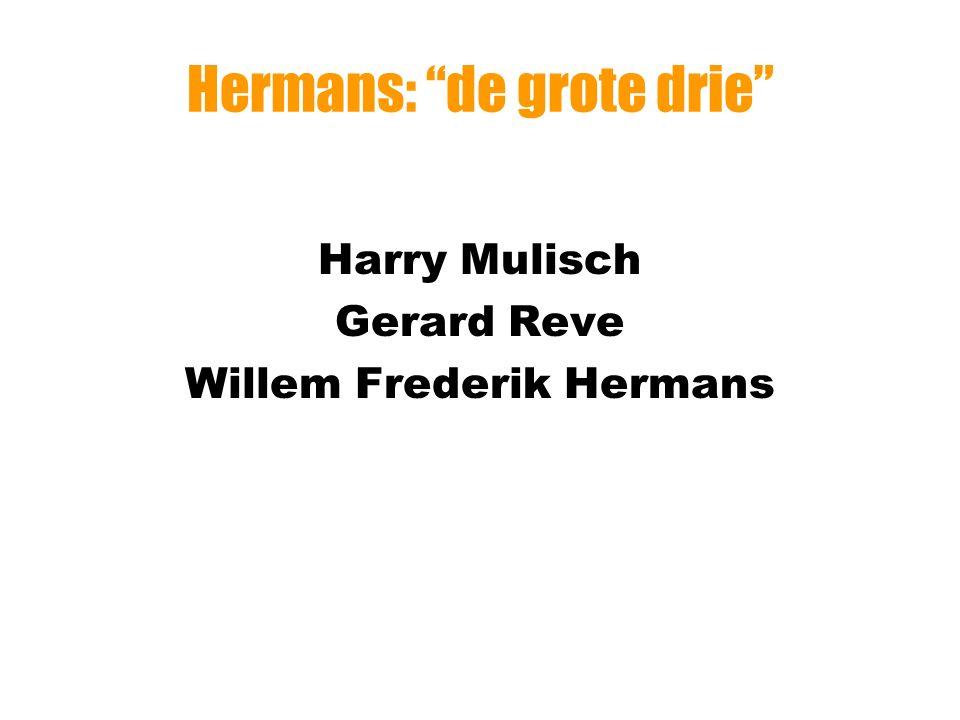 Hermans: leven Academicus (fysische geografie) Amsterdam, Groningen, Parijs, Brussel Polemist [=>]