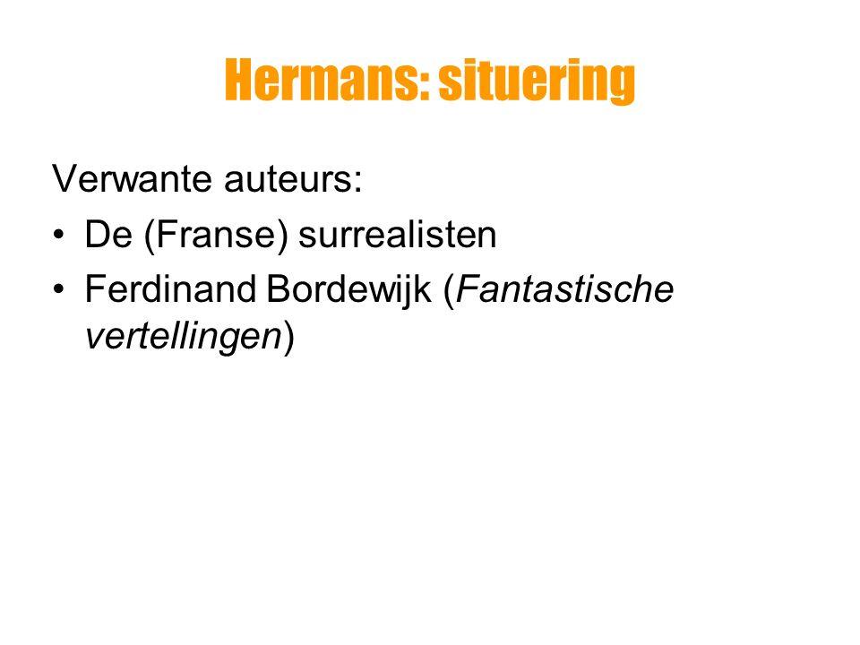 Hermans: situering Ludwig Wittgenstein, Tractatus logico- philosophicus (1921) W.F.