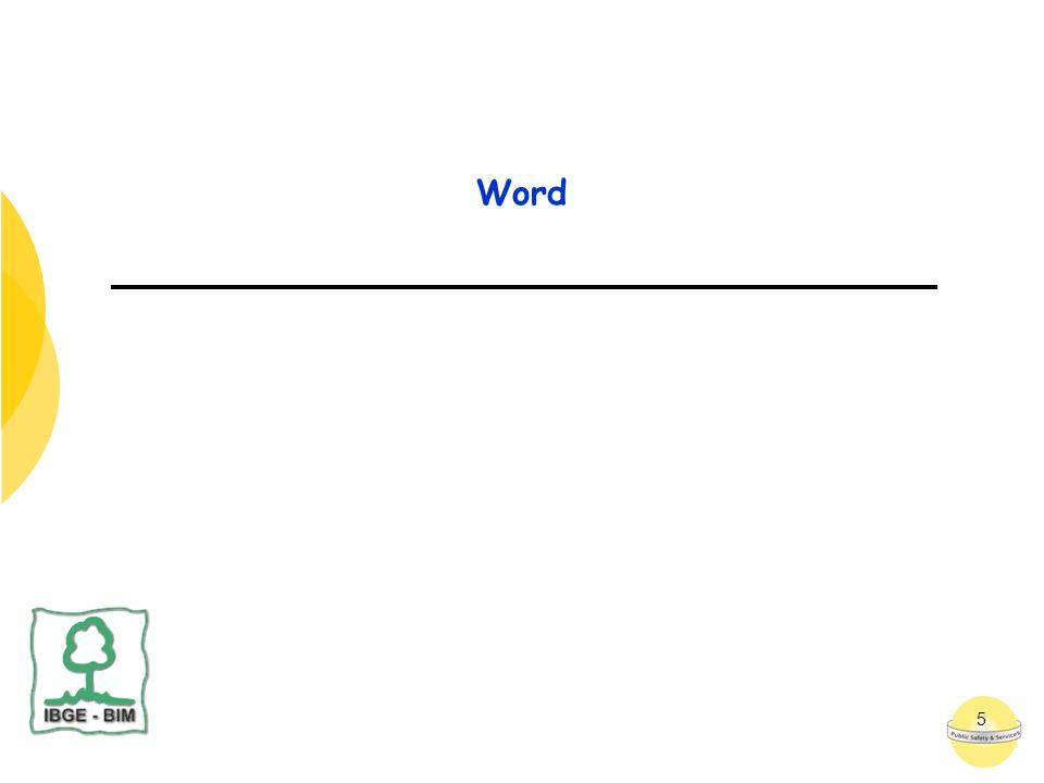 6 Page Setup (Aanpassen van de marges) Een pagina in WORD is gedefinieerd door zijn formaat (via het menu: File – Page Setup)