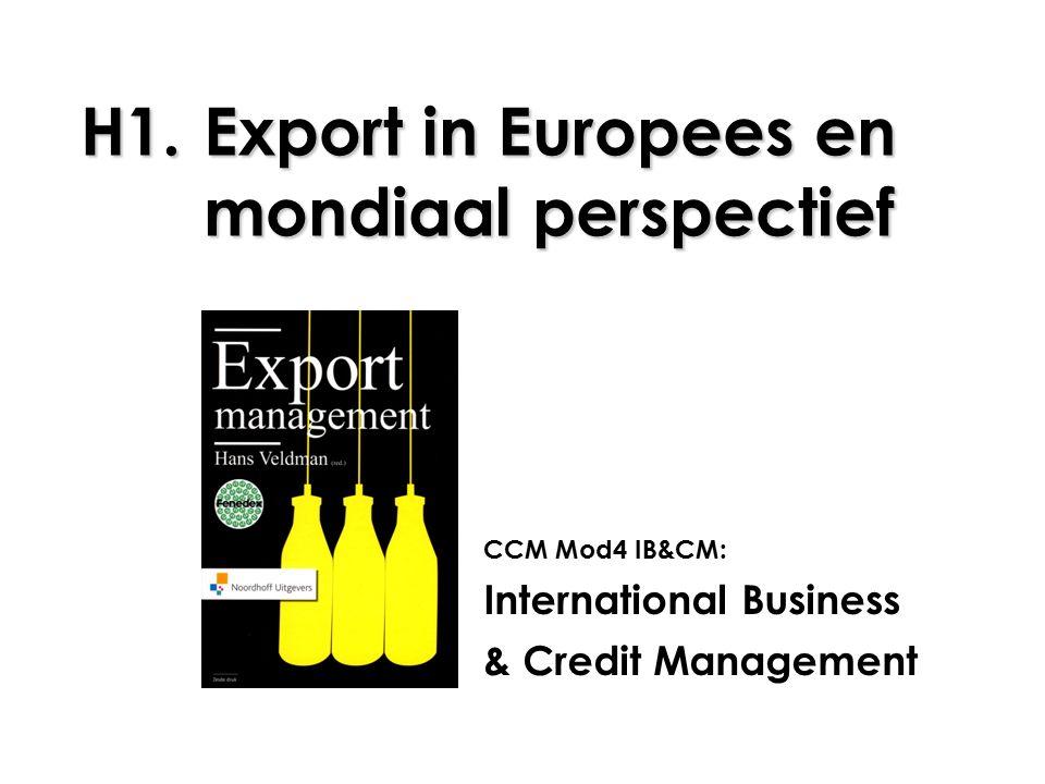 22 1.3 Protectionisme Nieuwe vormen van protectionisme, ofwel...
