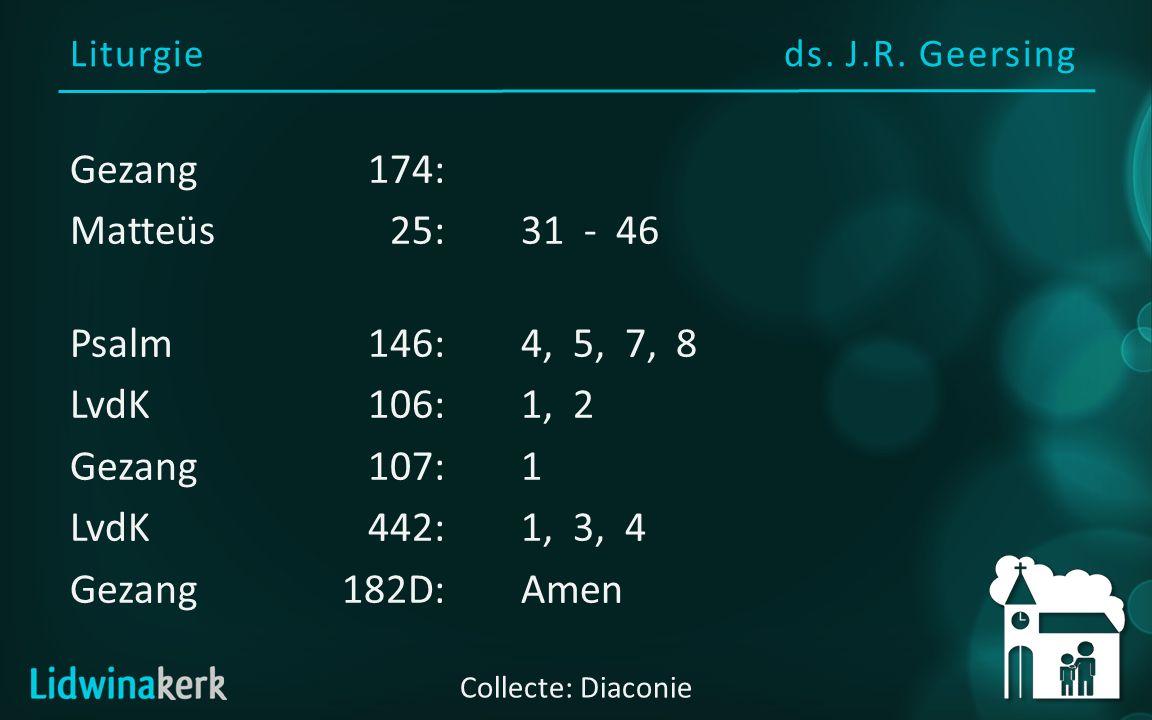 Liturgieds. J.R.