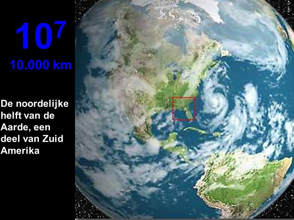 Een duidelijk beeld van een satelliet 10 6 1.000 km