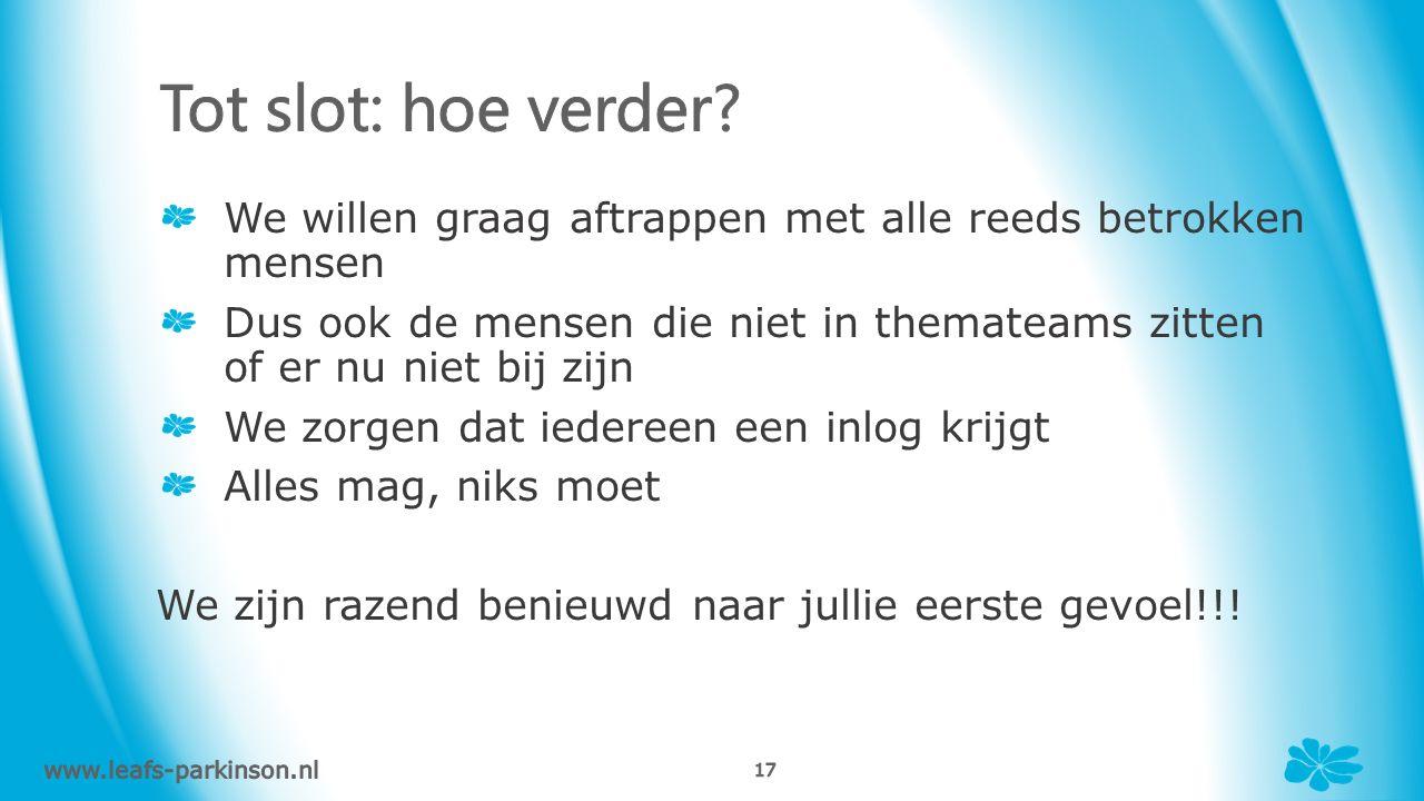 www.leafs-parkinson.nl - 16 -