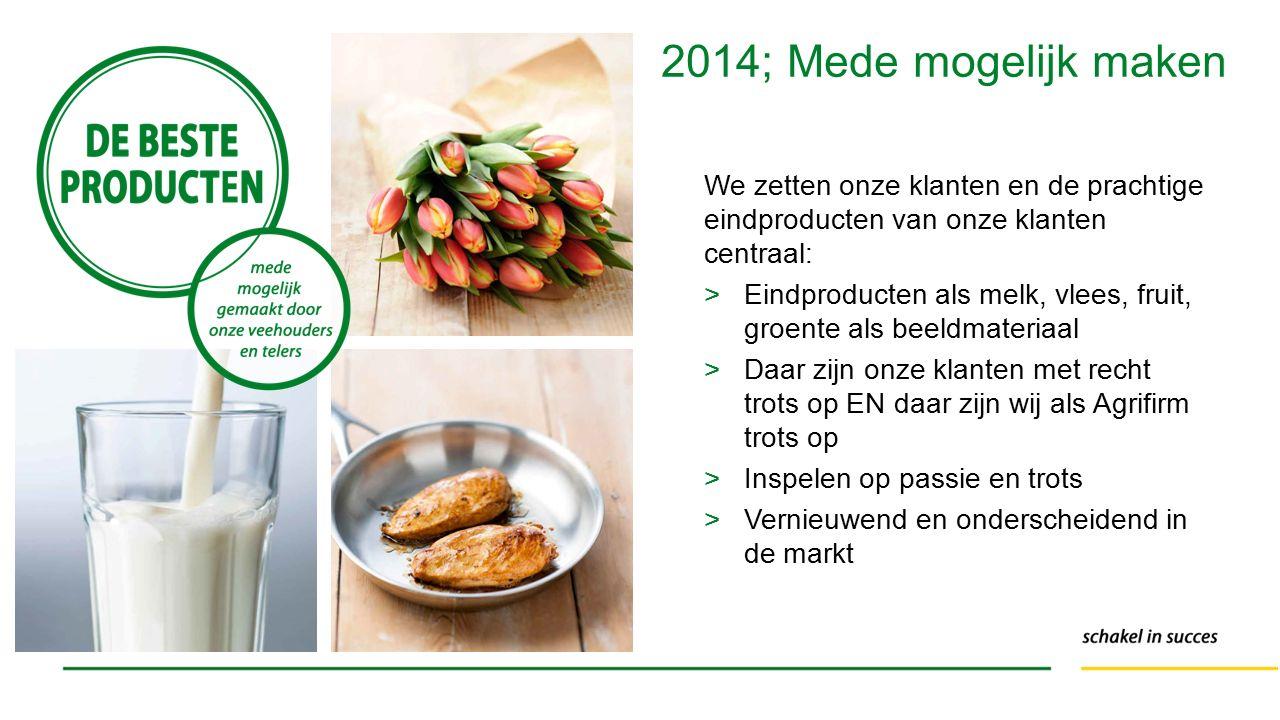 We zetten onze klanten en de prachtige eindproducten van onze klanten centraal: >Eindproducten als melk, vlees, fruit, groente als beeldmateriaal >Daa
