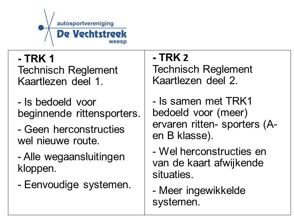 - TRK 2 Technisch Reglement Kaartlezen deel 2.