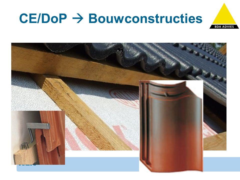 CE/DoP  Bouwconstructies