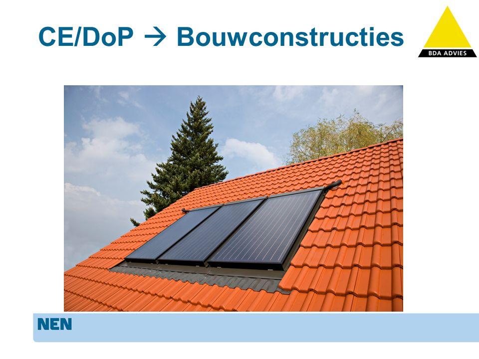 Bouwconstructies Wat kunnen we met CE/DoP.Bouwbesluit Kwaliteitsborging Eenvoud.